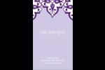Motif de tourbillons violets Carte d'affaire - gabarit prédéfini. <br/>Utilisez notre logiciel Avery Design & Print Online pour personnaliser facilement la conception.