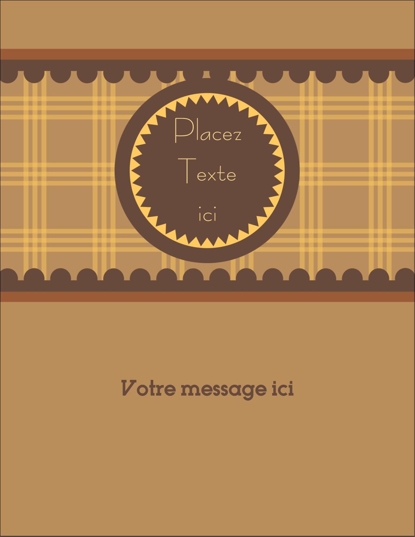 "5½"" x 4¼"" Carte Postale - Beurre d'arachide de Pauline"