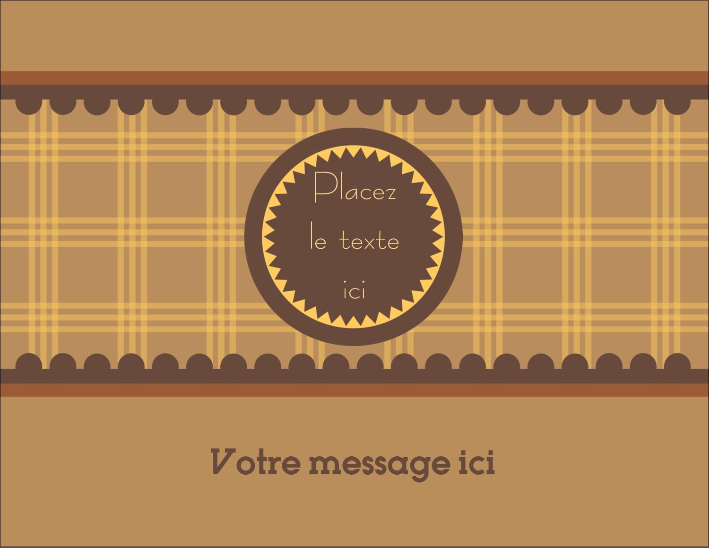 "4¼"" X 5½"" Carte Postale - Beurre d'arachide de Pauline"