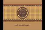 Beurre d'arachide de Pauline Carte Postale - gabarit prédéfini. <br/>Utilisez notre logiciel Avery Design & Print Online pour personnaliser facilement la conception.