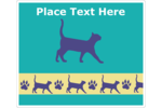 Cat-lovers will adore this  PAWS-itvely cat-friendly pre-designed template