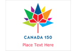 Celebrate 150 years of Canadian history by decorating projects with a colourful design