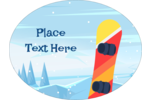 Your project will tear up the slopes with pre-designed Alpine Snowboarding templates.