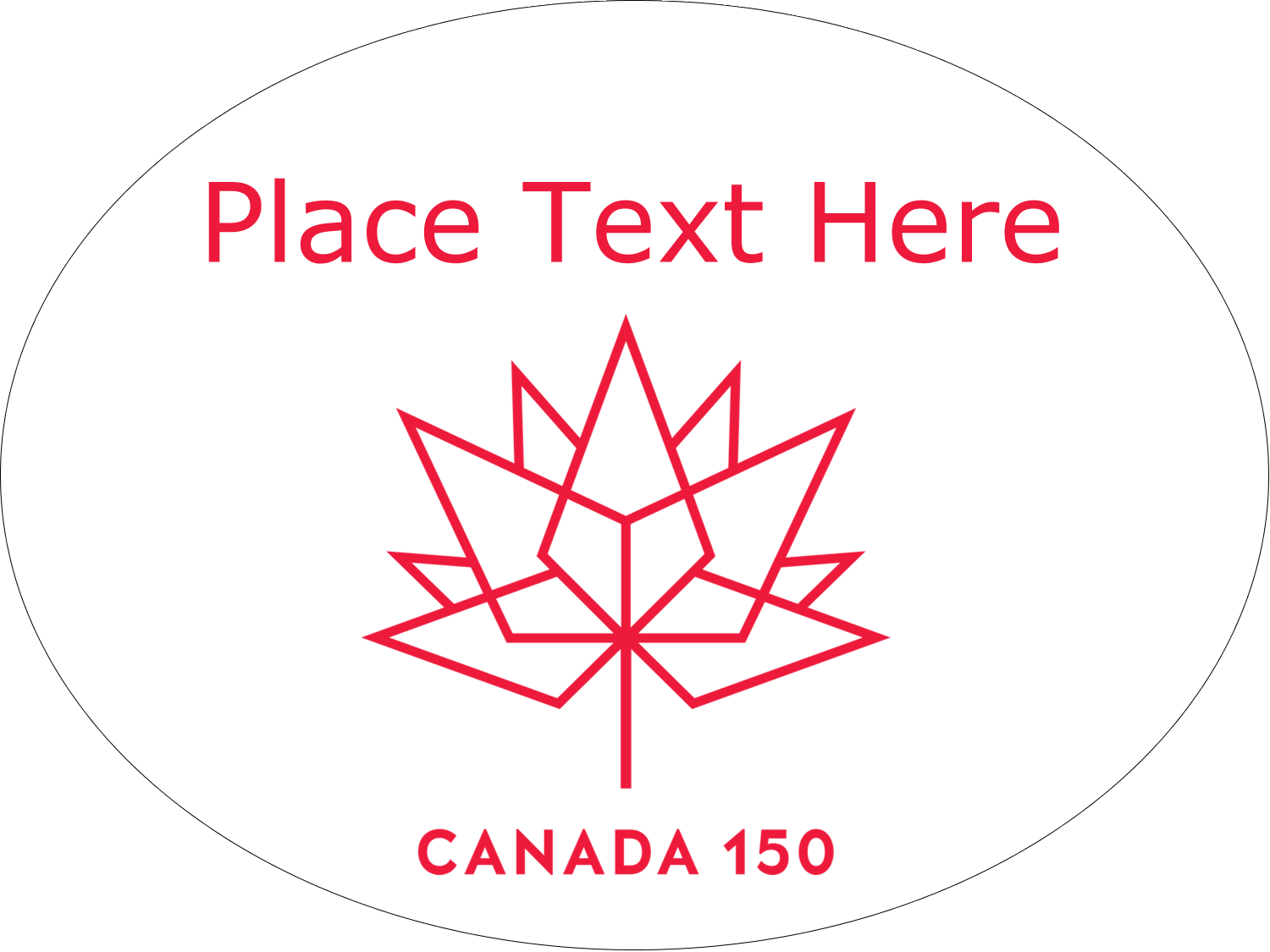 Celebrate Canada's 150th anniversary with an evocative symbol and a reminder of Canada's history!