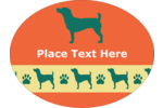 Dog-lovers will adore this  PAWS-itvely dog-friendly pre-designed template