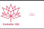 Canada 150 ans Cartes Et Articles D'Artisanat Imprimables - gabarit prédéfini. <br/>Utilisez notre logiciel Avery Design & Print Online pour personnaliser facilement la conception.