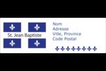 Fête de la Saint-Jean-Baptiste  Intercalaires / Onglets - gabarit prédéfini. <br/>Utilisez notre logiciel Avery Design & Print Online pour personnaliser facilement la conception.