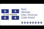 Fête de la Saint-Jean-Baptiste Étiquettes de classement écologiques - gabarit prédéfini. <br/>Utilisez notre logiciel Avery Design & Print Online pour personnaliser facilement la conception.