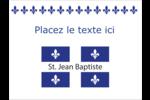 Fête de la Saint-Jean-Baptiste  Badges - gabarit prédéfini. <br/>Utilisez notre logiciel Avery Design & Print Online pour personnaliser facilement la conception.