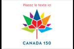 Mosaïque multicoloure Canada 150 Étiquettes à codage couleur - gabarit prédéfini. <br/>Utilisez notre logiciel Avery Design & Print Online pour personnaliser facilement la conception.