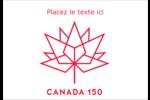 Canada 150 ans Étiquettes à codage couleur - gabarit prédéfini. <br/>Utilisez notre logiciel Avery Design & Print Online pour personnaliser facilement la conception.