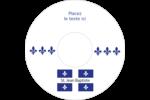 Fête de la Saint-Jean-Baptiste  Étiquettes de classement - gabarit prédéfini. <br/>Utilisez notre logiciel Avery Design & Print Online pour personnaliser facilement la conception.