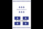 Fête de la Saint-Jean-Baptiste  Reliures - gabarit prédéfini. <br/>Utilisez notre logiciel Avery Design & Print Online pour personnaliser facilement la conception.