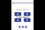 Fête de la Saint-Jean-Baptiste  Étiquettes rondes - gabarit prédéfini. <br/>Utilisez notre logiciel Avery Design & Print Online pour personnaliser facilement la conception.