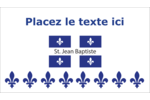 Fête de la Saint-Jean-Baptiste Carte d'affaire - gabarit prédéfini. <br/>Utilisez notre logiciel Avery Design & Print Online pour personnaliser facilement la conception.