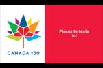 Mosaïque multicoloure Canada 150 Carte d'affaire - gabarit prédéfini. <br/>Utilisez notre logiciel Avery Design & Print Online pour personnaliser facilement la conception.