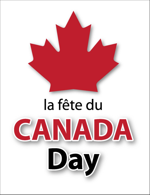 "8½"" x 11"" T-Shirt-Tranfers - Canada Day"