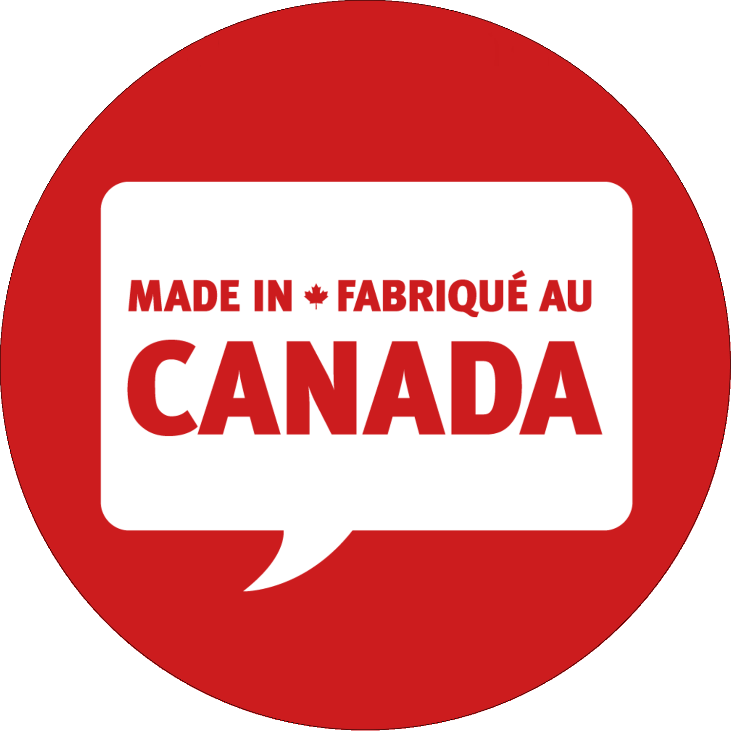 """2½"""" Round Label - Canada Day"""
