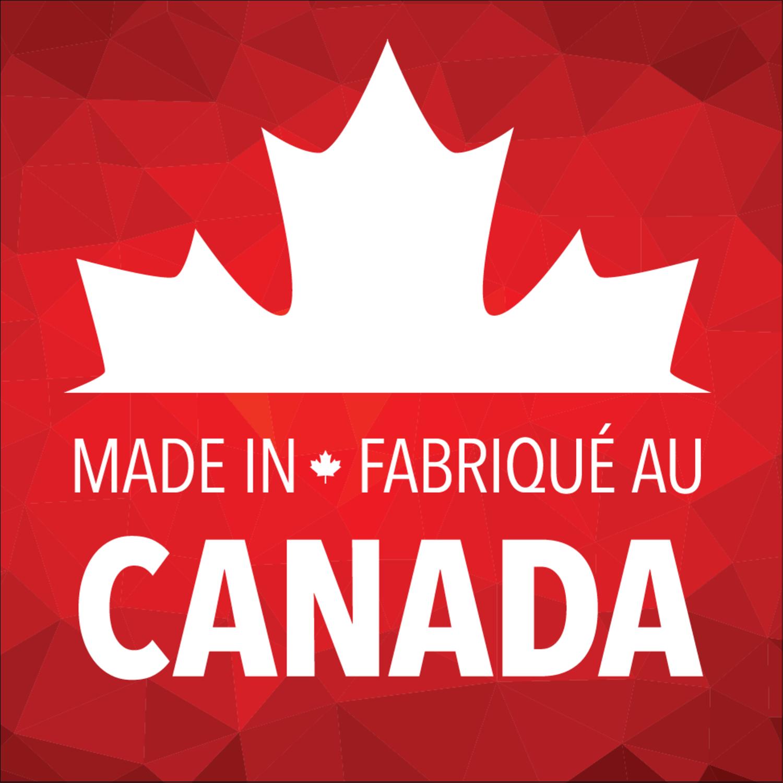 """2"""" x 2"""" Square Label - Canada Day"""