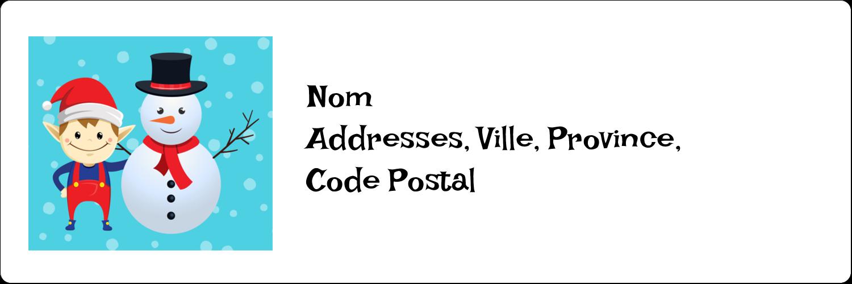 Amies de Fêtes Étiquettes d'adresse - gabarit prédéfini. <br/>Utilisez notre logiciel Avery Design & Print Online pour personnaliser facilement la conception.