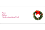 Add festive cheer to custom projects with classy Christmas Garland templates.