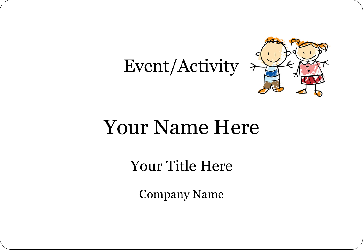 Bring childlike sweetness to custom projects with pre-designed Child Education templates.
