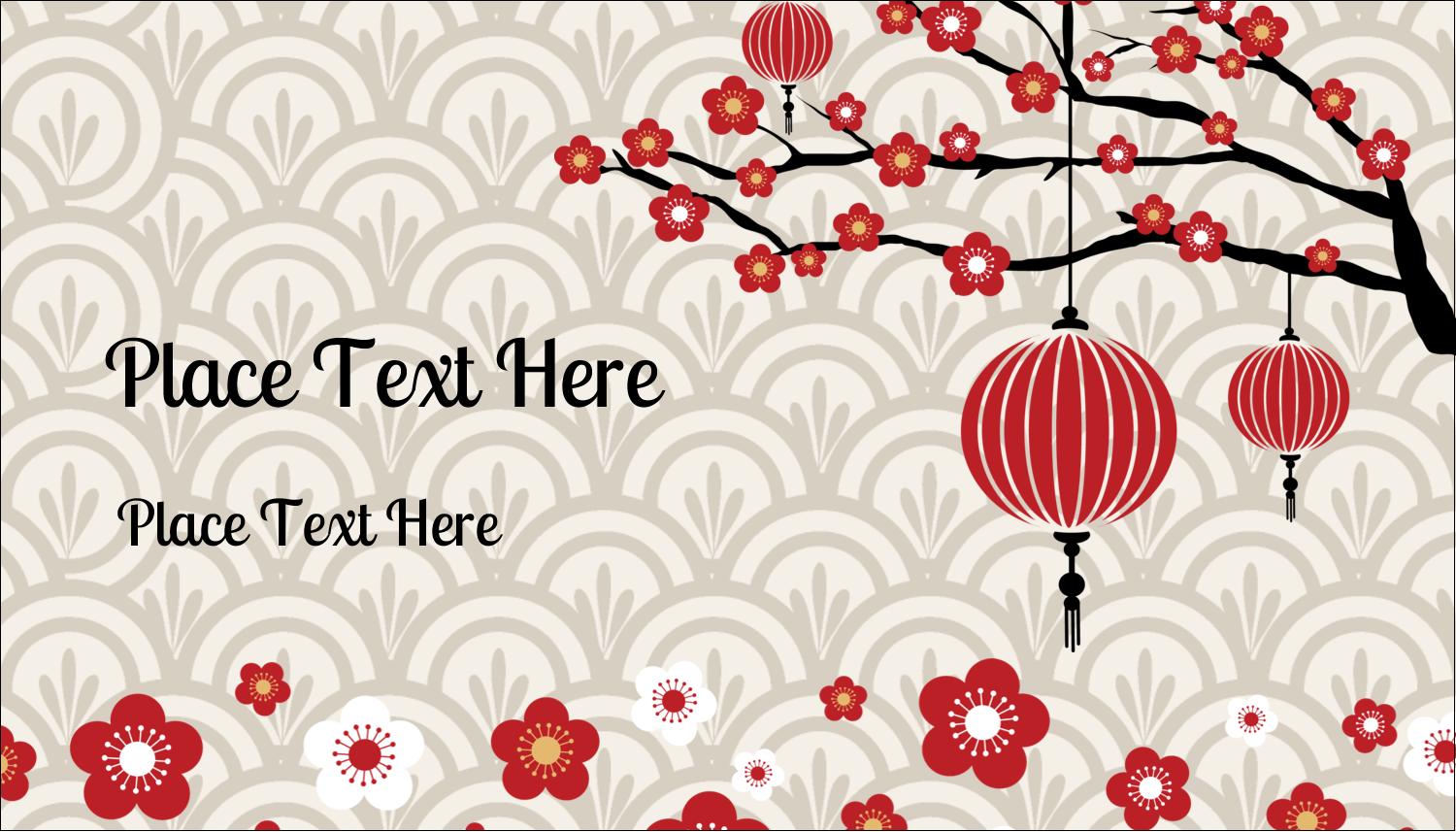"2"" x 3½"" Business Card - Chinese New Year"