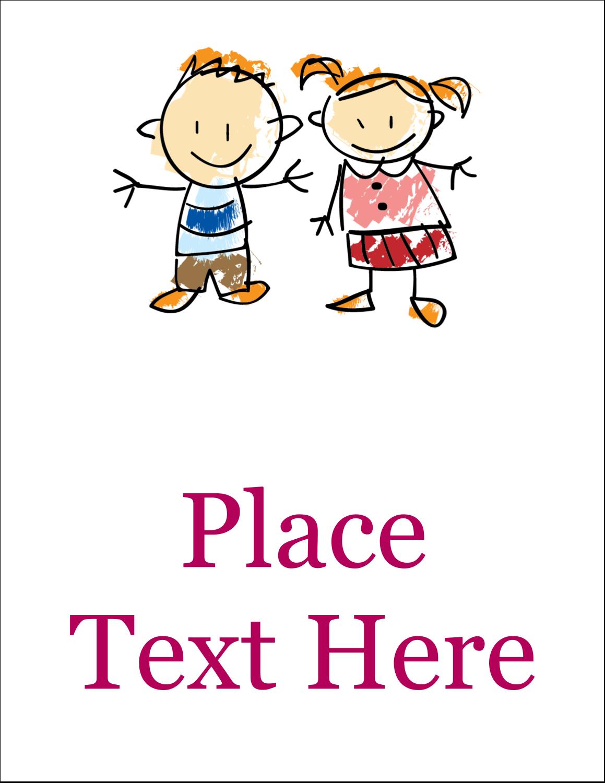 "5½"" x 4¼"" Postcard - Child Education"