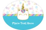Add a splash of glitter to your unicorn-themed birthday party, event, or labels