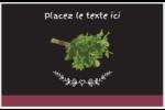 Persil, épices et fines herbes sur tableau noir Cartes Et Articles D'Artisanat Imprimables - gabarit prédéfini. <br/>Utilisez notre logiciel Avery Design & Print Online pour personnaliser facilement la conception.