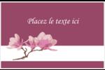 Magnolia printanier Cartes de souhaits pliées en deux - gabarit prédéfini. <br/>Utilisez notre logiciel Avery Design & Print Online pour personnaliser facilement la conception.