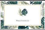 Verdure tropicale Cartes Et Articles D'Artisanat Imprimables - gabarit prédéfini. <br/>Utilisez notre logiciel Avery Design & Print Online pour personnaliser facilement la conception.
