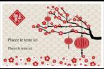 Nouvel An chinois Cartes Et Articles D'Artisanat Imprimables - gabarit prédéfini. <br/>Utilisez notre logiciel Avery Design & Print Online pour personnaliser facilement la conception.
