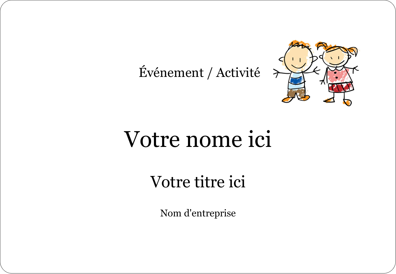 Éducation des enfants Badges - gabarit prédéfini. <br/>Utilisez notre logiciel Avery Design & Print Online pour personnaliser facilement la conception.