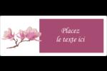 Magnolia printanier Étiquettes d'adresse - gabarit prédéfini. <br/>Utilisez notre logiciel Avery Design & Print Online pour personnaliser facilement la conception.