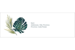 Verdure tropicale Intercalaires / Onglets - gabarit prédéfini. <br/>Utilisez notre logiciel Avery Design & Print Online pour personnaliser facilement la conception.