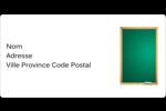 Tableau vert Étiquettes de classement écologiques - gabarit prédéfini. <br/>Utilisez notre logiciel Avery Design & Print Online pour personnaliser facilement la conception.