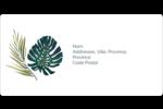 Verdure tropicale Étiquettes de classement écologiques - gabarit prédéfini. <br/>Utilisez notre logiciel Avery Design & Print Online pour personnaliser facilement la conception.