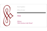 Diamant stylisé Étiquettes de classement écologiques - gabarit prédéfini. <br/>Utilisez notre logiciel Avery Design & Print Online pour personnaliser facilement la conception.