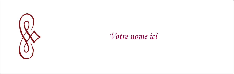 """4¼"""" x 5½"""" Carte de note - Diamant stylisé"""