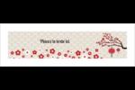 Nouvel An chinois Cartes de notes - gabarit prédéfini. <br/>Utilisez notre logiciel Avery Design & Print Online pour personnaliser facilement la conception.