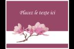 Magnolia printanier Cartes de notes - gabarit prédéfini. <br/>Utilisez notre logiciel Avery Design & Print Online pour personnaliser facilement la conception.