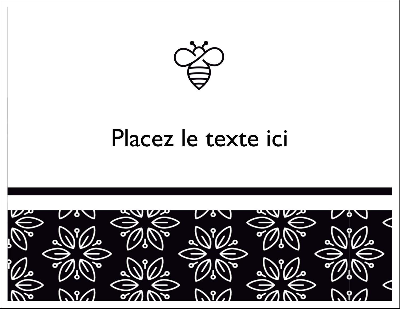Abeille butineuse Cartes de notes - gabarit prédéfini. <br/>Utilisez notre logiciel Avery Design & Print Online pour personnaliser facilement la conception.