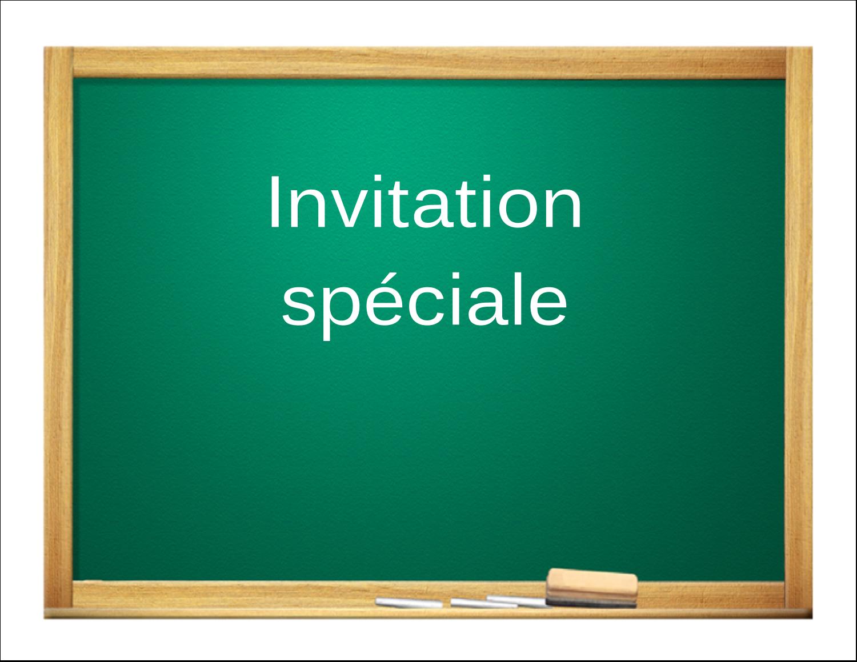"""8½"""" x 11"""" Cartes Et Articles D'Artisanat Imprimables - Tableau vert"""