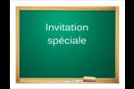 Tableau vert Cartes Et Articles D'Artisanat Imprimables - gabarit prédéfini. <br/>Utilisez notre logiciel Avery Design & Print Online pour personnaliser facilement la conception.