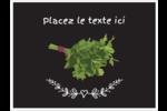 Persil, épices et fines herbes sur tableau noir Badges - gabarit prédéfini. <br/>Utilisez notre logiciel Avery Design & Print Online pour personnaliser facilement la conception.