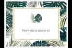 Verdure tropicale Badges - gabarit prédéfini. <br/>Utilisez notre logiciel Avery Design & Print Online pour personnaliser facilement la conception.