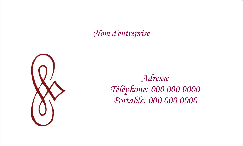 """2"""" x 3½"""" Cartes Pour Le Bureau - Diamant stylisé"""