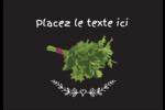 Persil, épices et fines herbes sur tableau noir Étiquettes à codage couleur - gabarit prédéfini. <br/>Utilisez notre logiciel Avery Design & Print Online pour personnaliser facilement la conception.