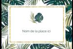 Verdure tropicale Étiquettes à codage couleur - gabarit prédéfini. <br/>Utilisez notre logiciel Avery Design & Print Online pour personnaliser facilement la conception.